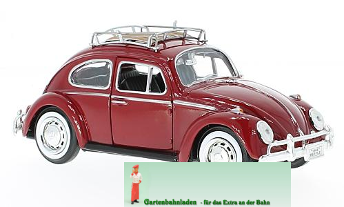 vw beetle with roof rack colour